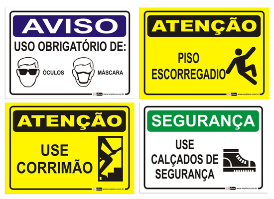 A sinalização no ambiente de trabalho - Bem-Vindo! fdc8b7112e
